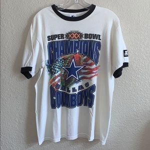Vintage Dallas Cowboys ⭐️💙 Super Bowl T-shirt Su